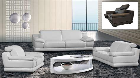 ensemble canape cuir salons cuir mobilier cuir
