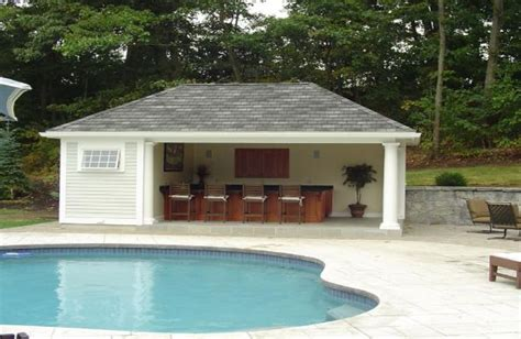 prefabricated pool houses prefab pool house with bathroom goodhome ids