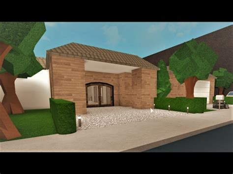 Building A One Story House! Roblox   Bloxburg (207k)   YouTube