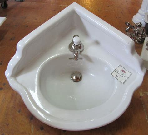 vintage corner bathroom sink antique vintage corner sink
