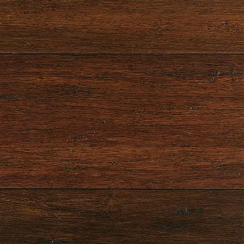 Bamboo Floor L Home Decorators Collection Scraped Strand Woven 3 8 In T X 5 1 5 In W X 36 02 In