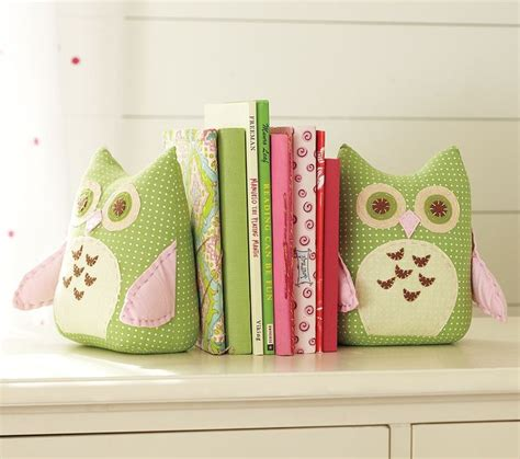 Nursery Owl Decor Owl Bookends Contemporary Nursery Decor By Pottery Barn