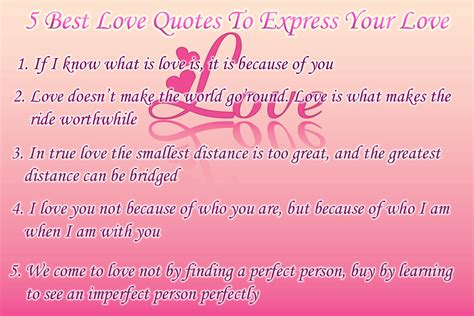 Miracle Of Love: Best Love Quotes