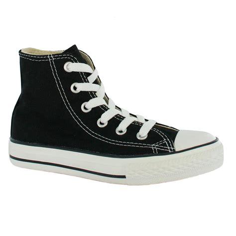 black converse shoes converse yas hi black white canvas shoe