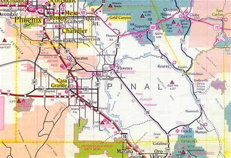 Records Pinal County Pinal County Map Arizona Arizona Hotels Motels Vacation Rentals Places To