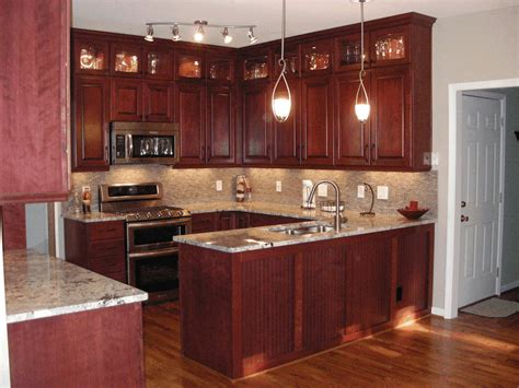 kitchen cabinets and flooring cherry redwood kitchen counter sleek white marble