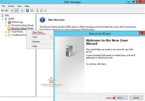 Dns Lookup Zones Part 4 Configuring Dns Server For Vmware Vsphere Lab Vgeek Tales From Real It System