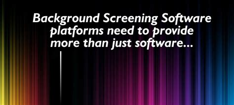 background check software best background screening software home