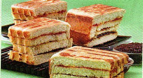 Wajan Roti Bakar Bandung resep cara membuat roti bakar special kuliner123