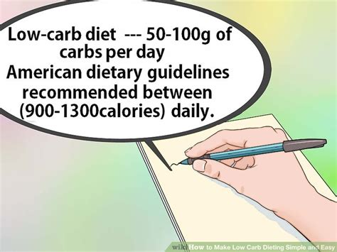 carbohydrates easy definition how to make low carb dieting simple and easy 15 steps