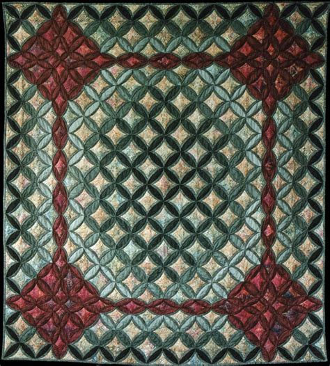 Cathedral Quilt by Enchanted Garden Cathedral Window Quilt 10 Min Blocks