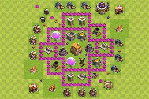 layout defesa cv 6 dicas clash of clans como ter um layout de vila ce 227 o