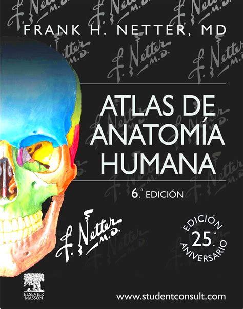 libro cuaderno de anatoma para netter atlas de anatomia humana