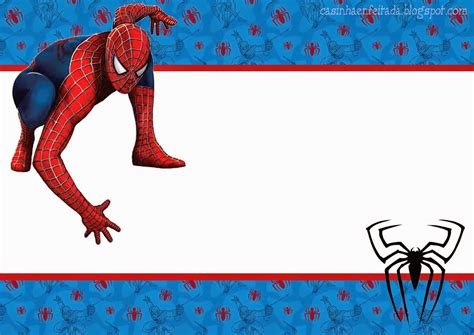 spiderman blue background free printable kit oh my