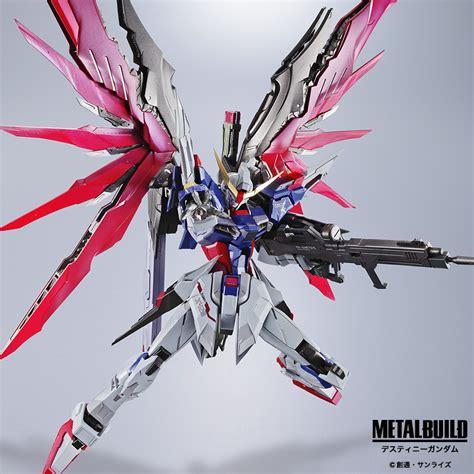 Gundam Destiny Metal Build Destiny Gundam The Toyark News