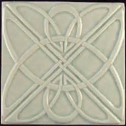 art deco tile decorative relief carved art deco celtic knot tile relief