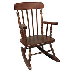 Simple wood rocking chair traditional wooden rocking