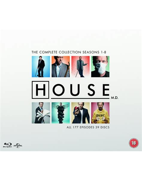 house complete series house m d the complete series uk import