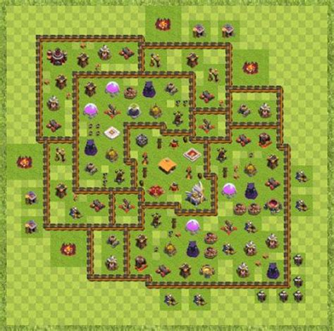 layout coc level 21 war base town hall level 11 by dexter teh th11 layout