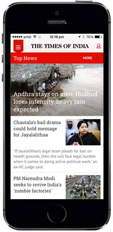 www timesofindia mobile best news app the times of india toi android iphone