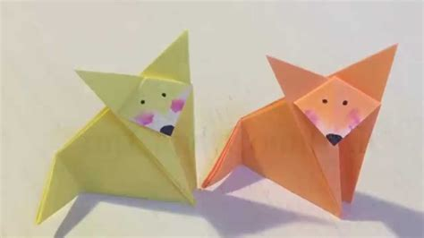 Where Does Origami Come From - come fare una volpe di origami idea creativa diy handmade