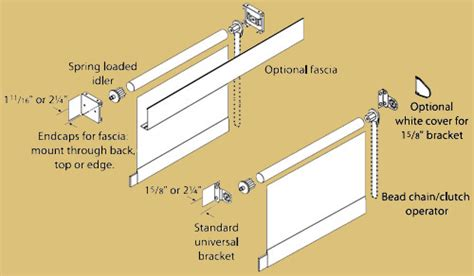Bracket Box Vixion New Shadis Breket draper clutch operated shades commercial drapes and blinds