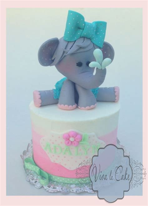 Elephant Baby Shower Cake by Elephant Baby Shower Cake Cake