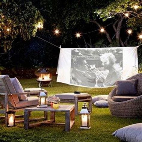 backyard movie projectors get your garden patio or balcony summer ready with these