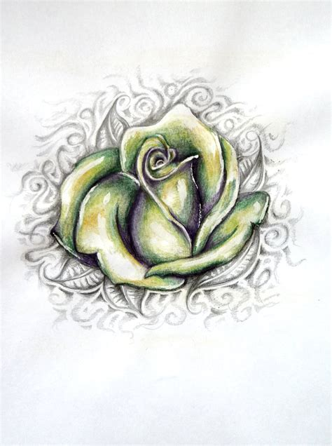 green rose tattoo ezee tattoos