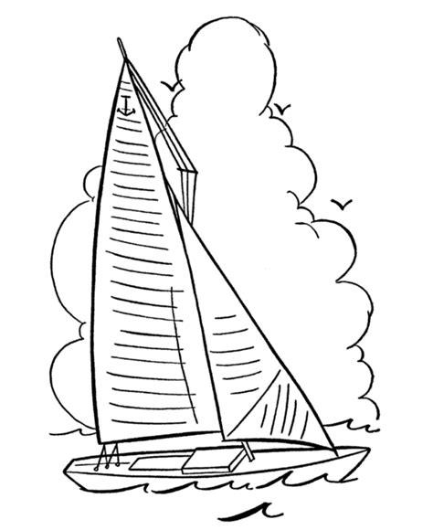 how to draw a optimist boat desenhos para colorir meios de transporte mar 237 timo e fluvial