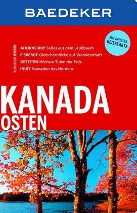 Baedeker Reisef 252 Hrer Kanada Osten Von Ole Helmhausen