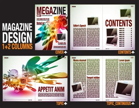 magazine layout research content page research nikoleta marina g