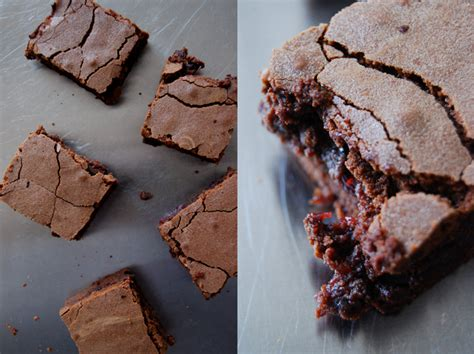 Would You Rather Eat A Brownie Or A Blondie by Fudgy Raspberry Chocolate Brownies Eat In My Kitchen Eat