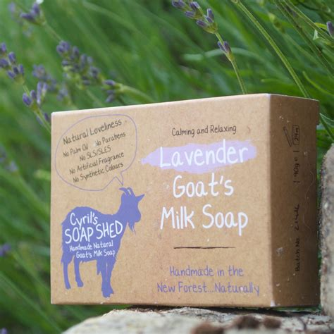 Handmade Goat Milk Soap - handmade goats milk soap lavender by cyril s soap shed