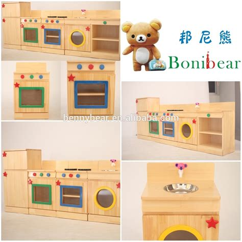 childrens wooden kitchen furniture children wooden role play kitchen furniture toy buy