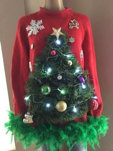light up ugly christmas sweater the tree isnt the only thing getting lit best 25 light up sweater ideas on sweaters diy sweater