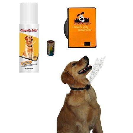 bark collar citronella spray anti bark collar  dogs