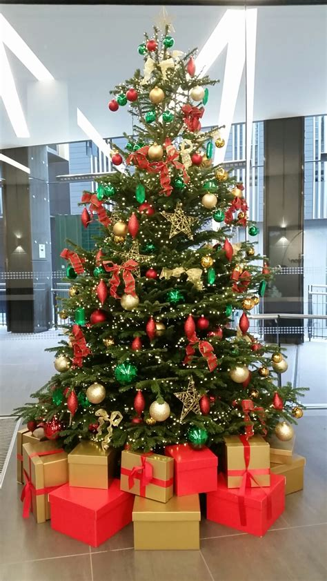 office christmas trees plantforce office plants london