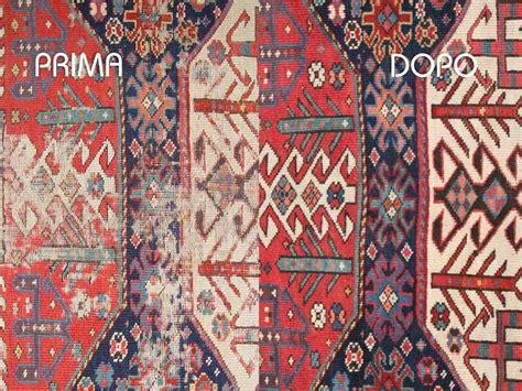 restauro tappeti processo di lavorazione a v tappeti lavaggio e