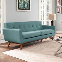 Contemporary Country Kitchen - modern sofas empire light blue sofa eurway modern