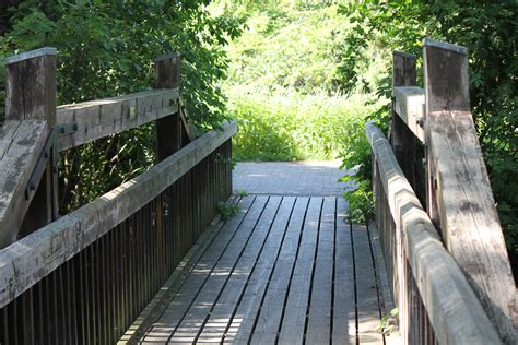 small wooden bridge small wooden bridge cc0 photo