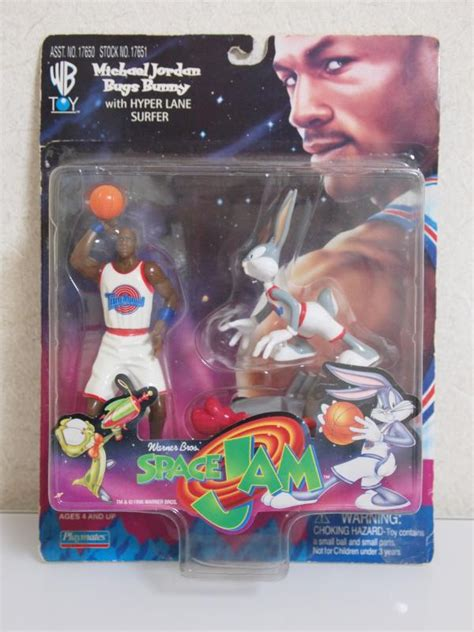 Playmates Space Jam Michael And Bugs Bunny Hyper Surfer ふぃぎゅあ道 space jam