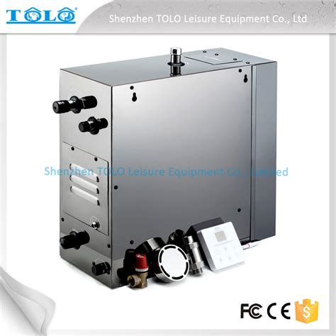 steam room generator 4 5kw 240v auto drain steam room steam generator with iphone wireless