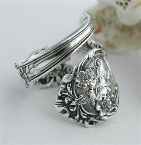 sterling silver spoon ring souvenir spoon