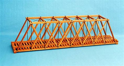 wooden bridge designs diy howe bridge design plans free