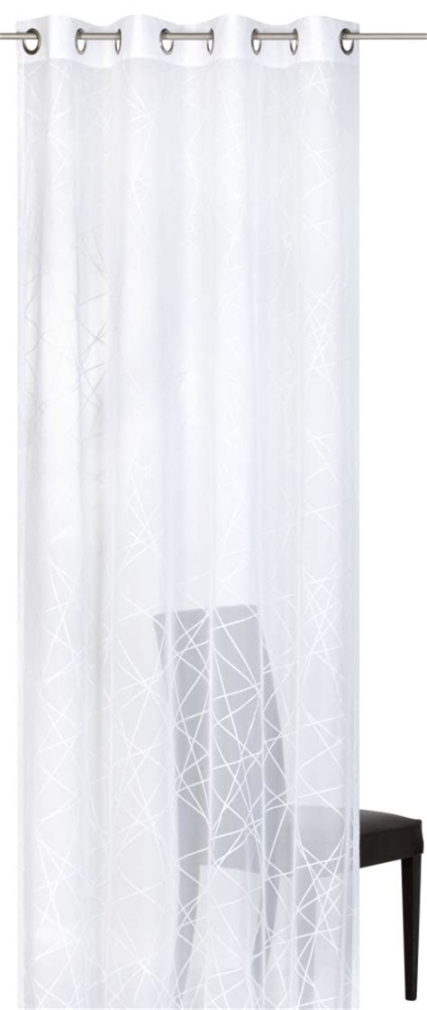 crossover voile curtains eyelet curtain crossover voile 00 elbersdrucke transparent