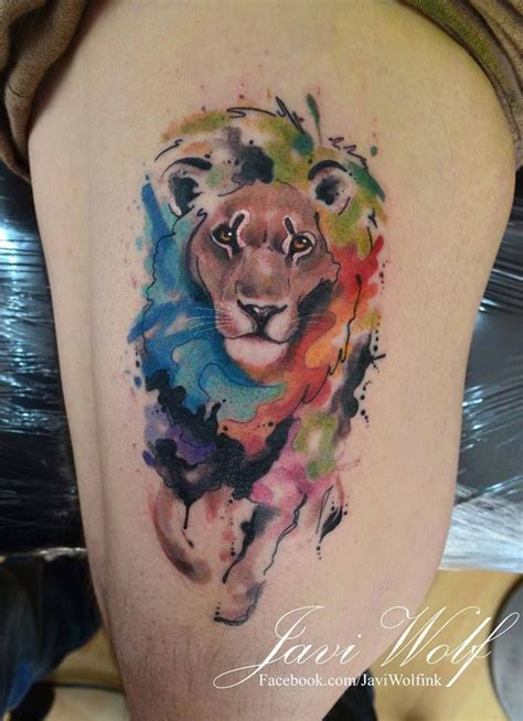 watercolor tattoo artists dc javi wolf a mexican tatto artist amazing