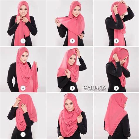 how to drape a hijab 1000 ideas about easy hijab tutorial on pinterest hijab