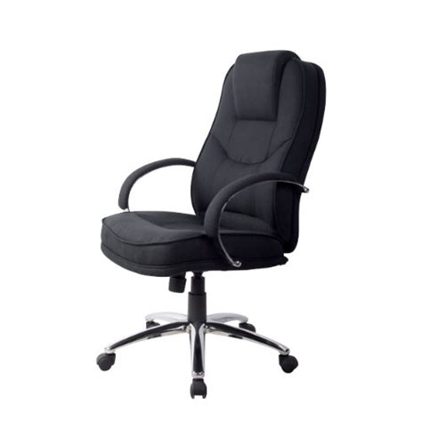 Office Chairs Fabric Rs Soho Rome2 Fabric Executive Office Chair In Black Ebay