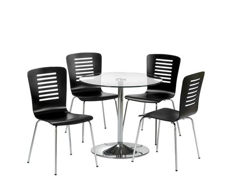 kansas glass kitchen table and 4 chairs